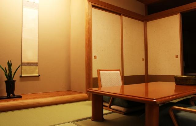 旅館の客室