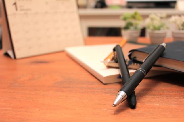 インクの出なくなったボールペン